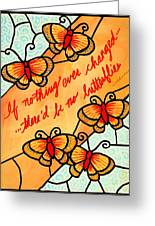 Buterflywhispers2 Greeting Card