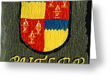 Butler Family Shield Greeting Card