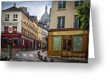 Butte De Montmartre Greeting Card