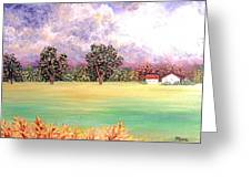 Butterfield Meadows Three Greeting Card