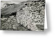 Butterfield Stage Lines Ruins Greeting Card