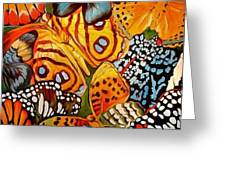 Butterfly Abstract Commission Greeting Card