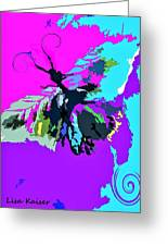 Butterfly Art By Lisa Kaiser Greeting Card