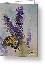 Butterfly Bush Greeting Card