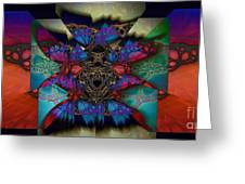 Butterfly Effect 2  Greeting Card
