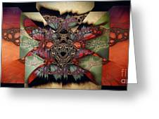 Butterfly Effect 2 / Vintage Tones  Greeting Card