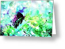 Butterfly Fantasty Greeting Card