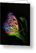 Butterfly Fantasy 2a Greeting Card