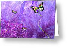 Butterfly Fantasy Greeting Card
