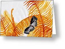 Butterfly Fern Greeting Card