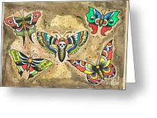 Butterfly Flash Greeting Card