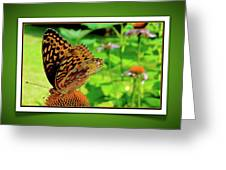 Butterfly For Earth Day Greeting Card