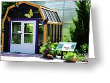 Butterfly House 3 Greeting Card
