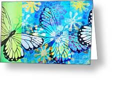 Butterfly In Flight #3  Greeting Card
