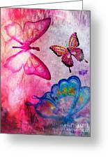 Butterfly Jam Greeting Card