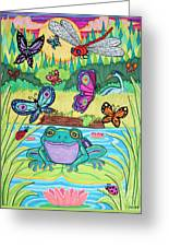 Butterfly Lake Greeting Card