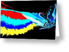 Butterfly Painting Greeting Card