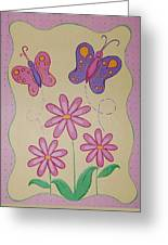 Butterfly Smiles Greeting Card