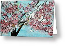Butterfly Star Magnolia Soulangeana 201825 Greeting Card