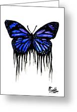 Butterfly Tears Greeting Card