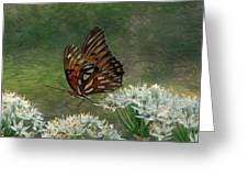 Butterfly Waters Greeting Card