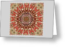 Butterfly Wheel Grey Greeting Card