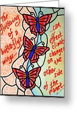 Butterflywhispers4 Greeting Card