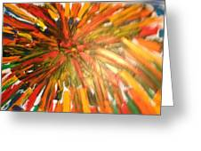 Bullet Proof Hurricane Glass One Greeting Card