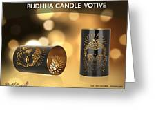 Buy Attractive Buddha Candle Votive From Rustik Craft  Greeting Card