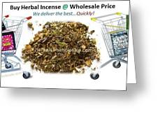 Buy Herbal Incense In Great Number At Wholesale Prices Greeting Card
