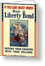 Buy Liberty Bonds Greeting Card