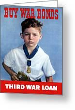 Buy War Bonds -- Third War Loan Greeting Card