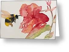 Buzz Bee Greeting Card