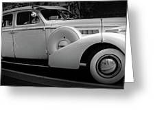 Bw Buick 8 Greeting Card