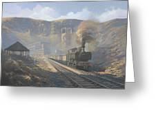 Bwllfa Dare Colliery Greeting Card