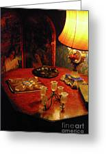 By Lamplight Greeting Card