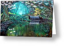 By Still Waters Greeting Card