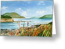 By The Bay  Greeting Card