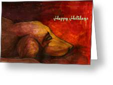 By The Fireside Greeting Card