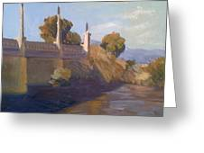By The La River Greeting Card