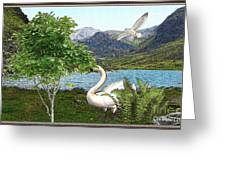 By The Lake 5 Greeting Card