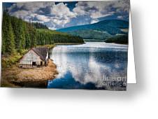 By The Lake Greeting Card