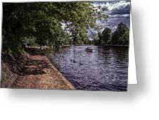 By The River Ouse Greeting Card