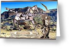 By The Rocks Greeting Card