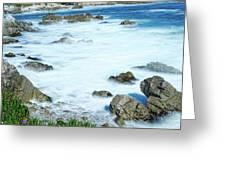 By The Sad Sea Waves Greeting Card