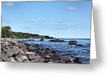 By The Shining Big Sea Water Greeting Card