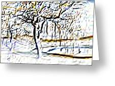 By Waters Edge Greeting Card