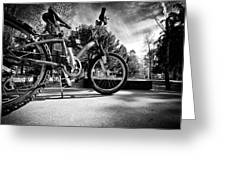 Bycicle Greeting Card