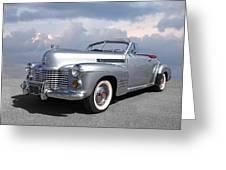 Bygone Era - 1941 Cadillac Convertible Greeting Card