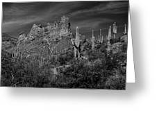 Byous Butte Greeting Card